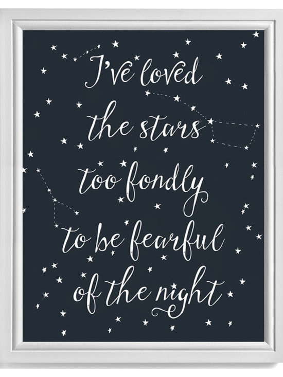 'I've Loved the Stars too Fondly' Instant Download by Paper Hive -