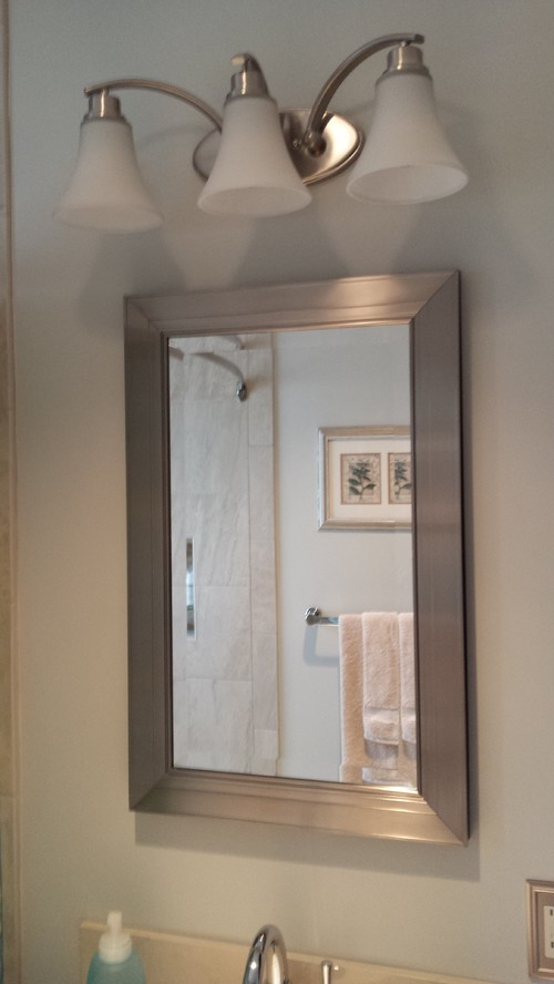 Our 5x8 Bathroom - From Drab to Fab