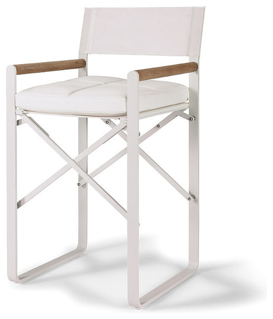 Director S Counter Height Chair With Cushion Patio