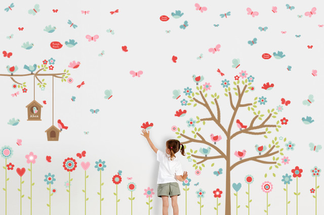 Springville Wall Decals modern kids decor