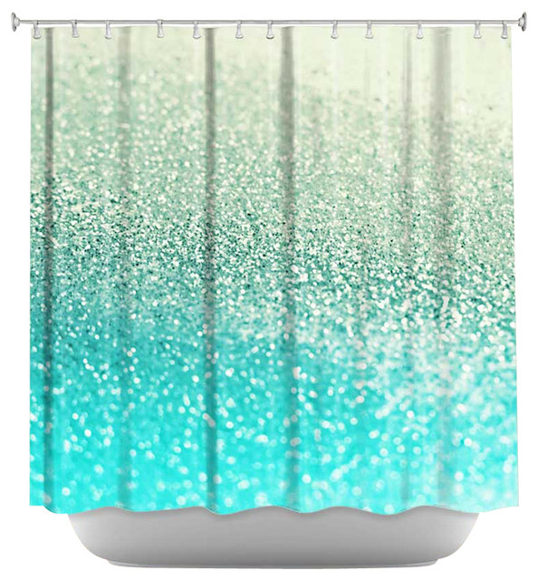 dianoche shower curtain gatsby mint eclectic shower. Black Bedroom Furniture Sets. Home Design Ideas