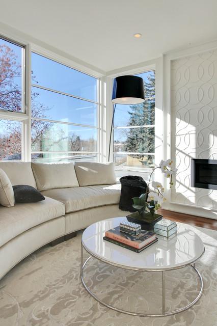 Calgary - 3 - Elbow Park homes, by Empire Custom Homes contemporary-living-room