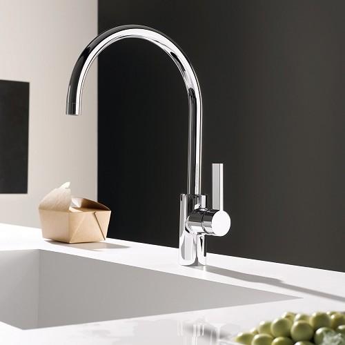 Dornbracht Tara single   SHOWROOM INC. modern-kitchen-faucets