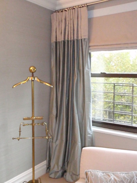 Silk Panel contemporary curtains