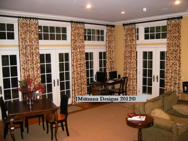 Curtains traditional