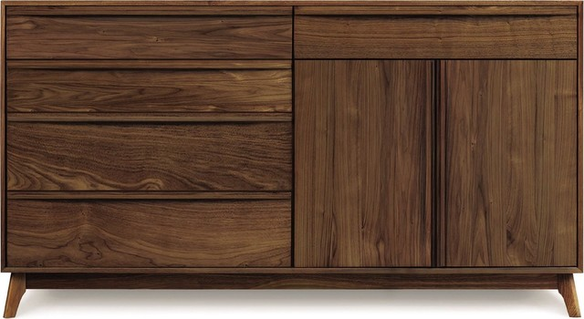 Copeland Furniture Catalina 5 Drawers 2 Doors Buffet modern-buffets-and-sideboards