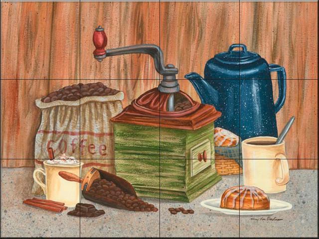 Tile Mural Perked Up Mt Kitchen Backsplash Ideas