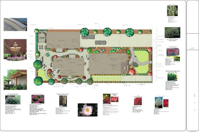 Landscape Design traditional-site-and-landscape-plan