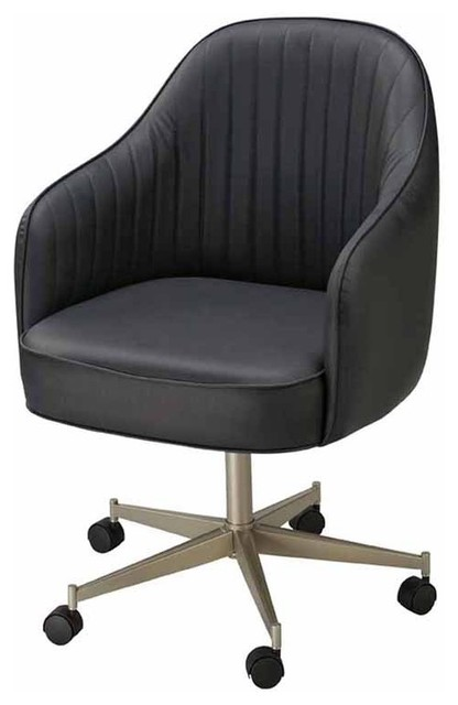 Regal bucket seat large dining chair with arms on casters for Garage seat fontaine