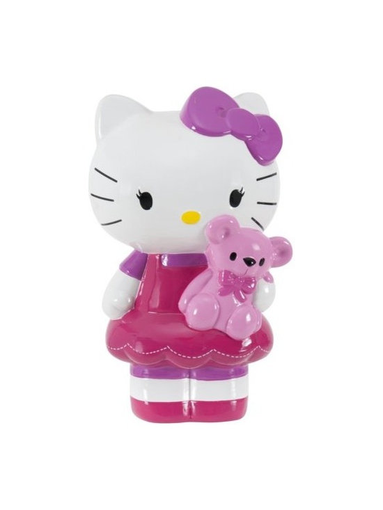 Hello Kitty Bank with Bear -