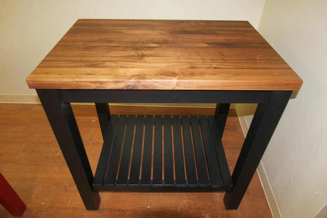 New line butcher block furniture detroit by mcclure for New line in the table