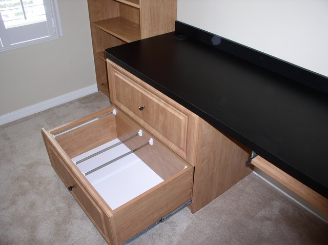 file drawer - Traditional - tampa - by Artisan Closets and Trim Inc