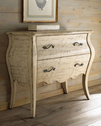"""Calligraphy"" Chest traditional-dressers-chests-and-bedroom-armoires"