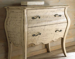 """""""Calligraphy"""" Chest traditional-dressers"""