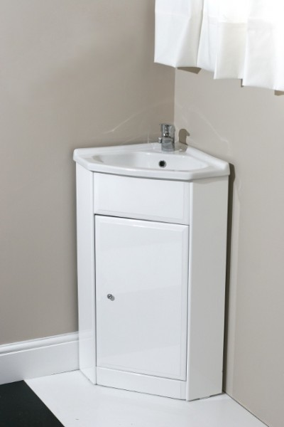 Corner Vanity Unit with Tap and Waste - Contemporary - Bathroom Vanities And Sink Consoles ...