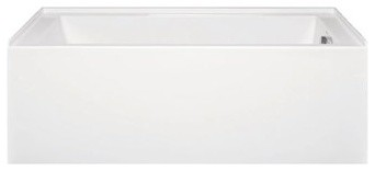 "Americh Turo 6032 Right Handed ADA Tub (60"" x 32"" x 18"") modern-bathtubs"
