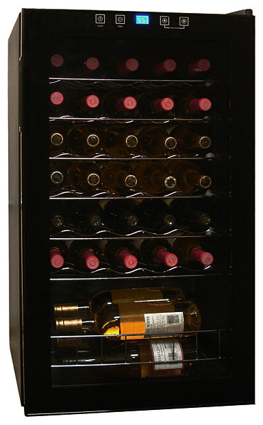 Vinotemp - 34-Bottle Touch Screen Wine Cooler contemporary-beer-and-wine-refrigerators