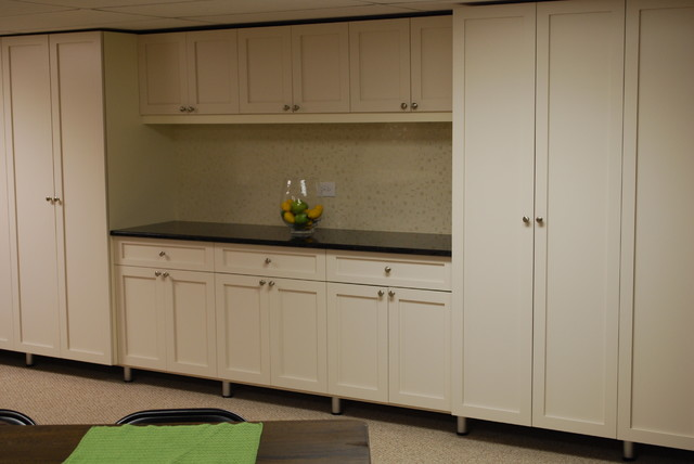 Custom Wall Units with mega Storage - chicago - by Space ...