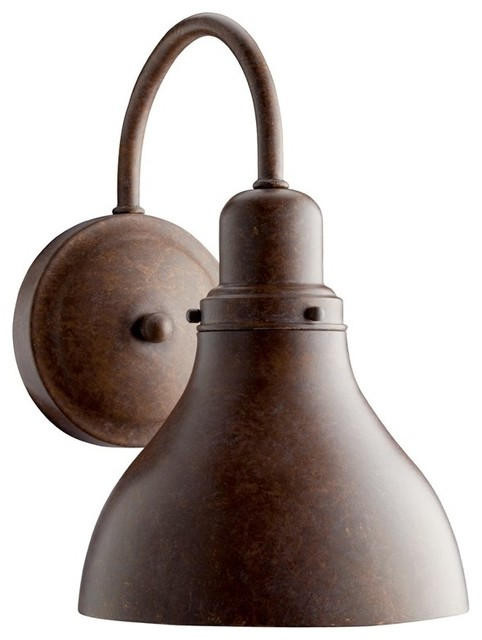 BUILDER Energy Efficient Transitional Outdoor Wall Sconce X-OCD62901 contemporary-outdoor-wall-lights-and-sconces