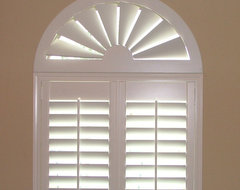 Blinds.com Custom Size Wood Arch traditional-window-blinds