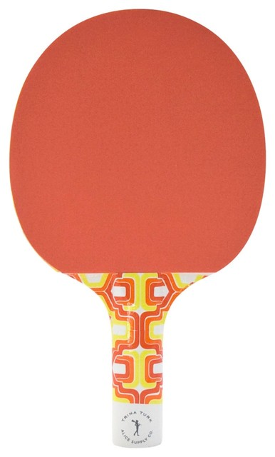 Trina Turk Ping-Pong Set eclectic-home-decor