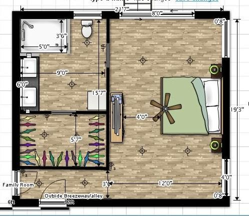 Need help with master bedroom layout for Master bedroom layout