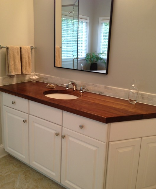 Wood countertops Charlotte , NC - Traditional - Vanity Tops And Side Splashes - other metro - by ...