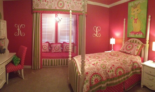 Window Treatments for children's bedrooms traditional-window-treatments