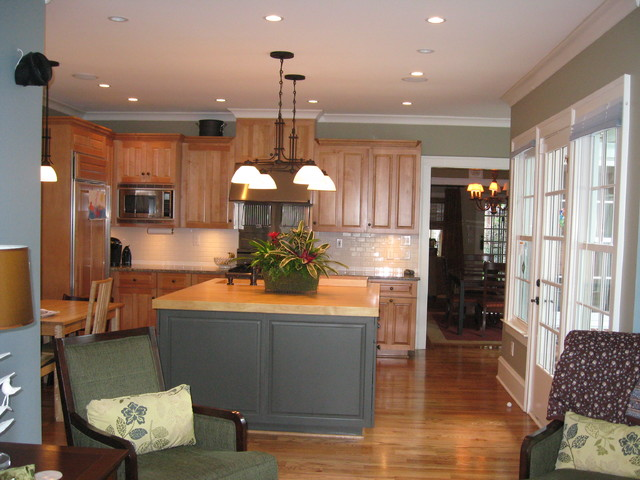Morningside Addition traditional-kitchen