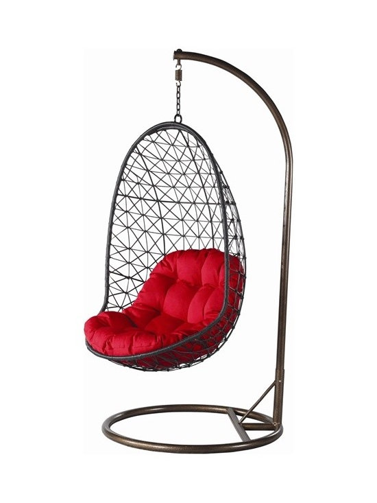 Ahki Rattan Hanging Chair - Features: