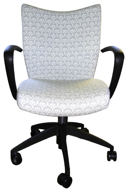 Upholstered Desk Chair contemporary-office-chairs