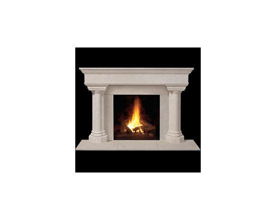 Whitney Stone Fireplace Mantel -