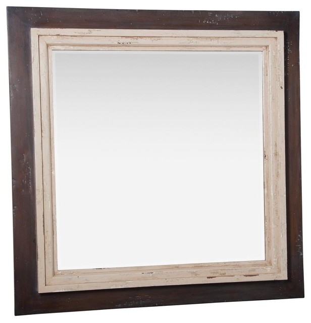 Timeless Classics 54 Inch Square Double Trim Mirror traditional-mirrors