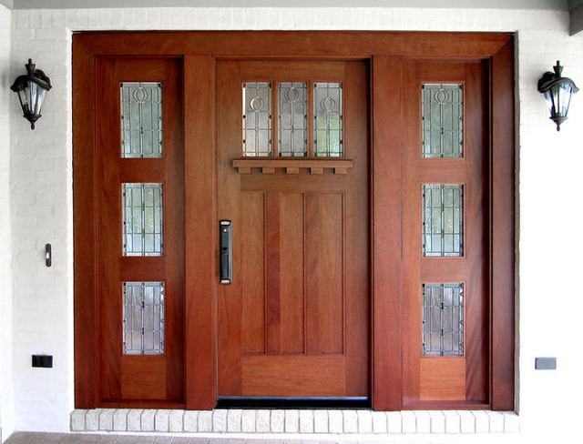 Craftsman Doors Traditional Front Doors Other Metro