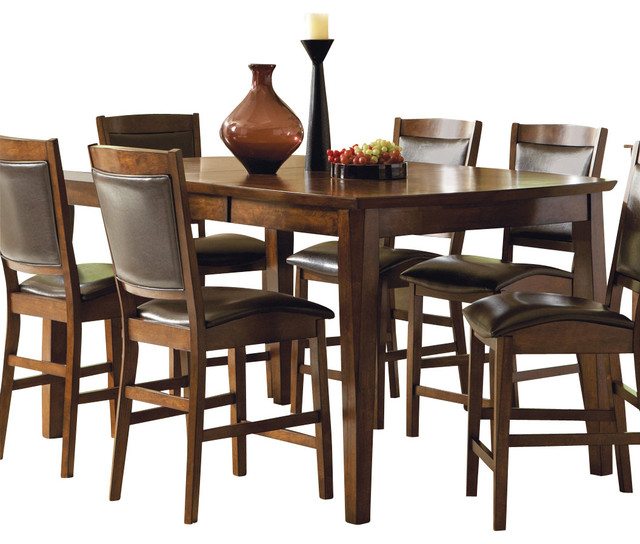 vancouver counter height table with leaf traditional dining tables