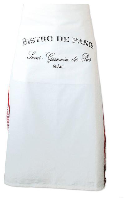 Bistro de Paris Half Apron transitional-aprons