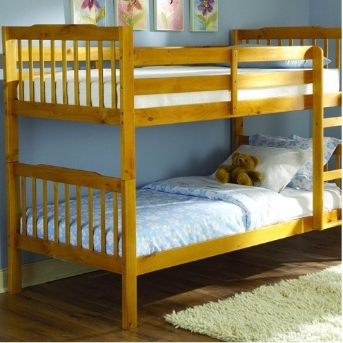 B27 Series Twin over Twin Bunk Bed with Built-In Ladder modern-beds