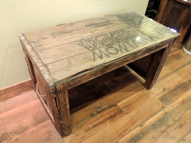 Custom Barnwood Desk (One of a Kind) - Rustic - Desks And Hutches - other metro - by Four Corner ...