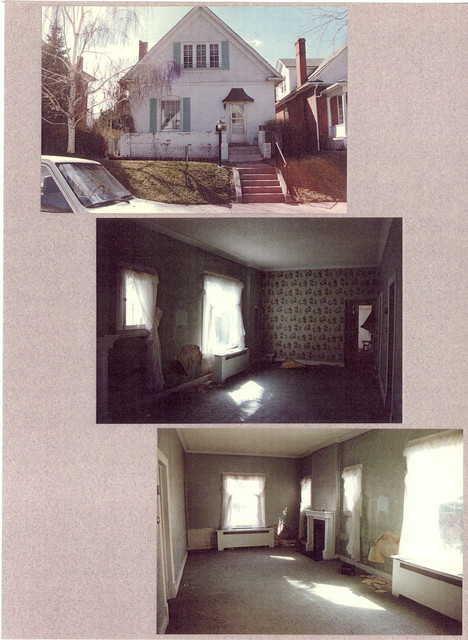 renovations with before and after eclectic