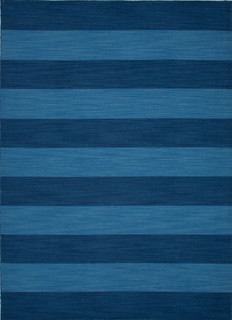 bicolored striped rug, living room rug