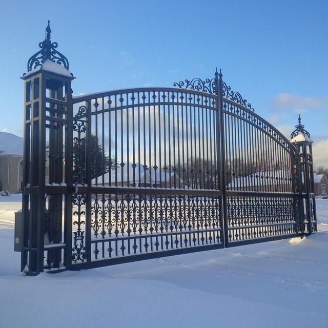 Images about custom wrought iron gates on pinterest