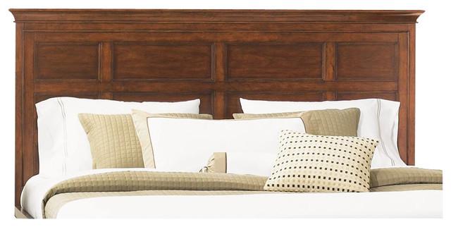 Magnussen Harrison Wood King Panel Bed Headboard