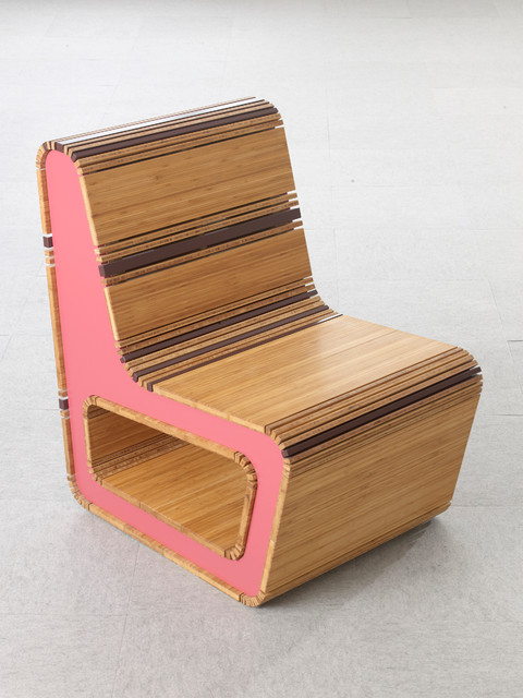 Stepping Wood Chair contemporary-living-room-chairs