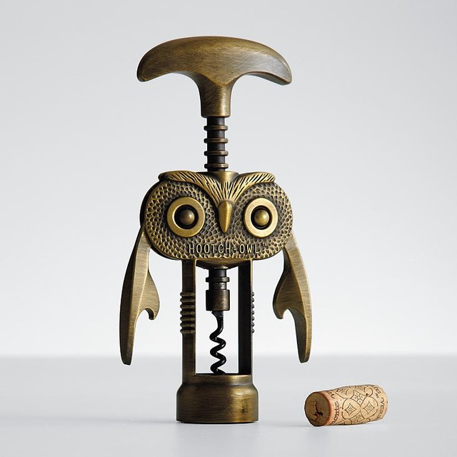 Hootch-Owl Corkscrew eclectic-wine-and-bottle-openers