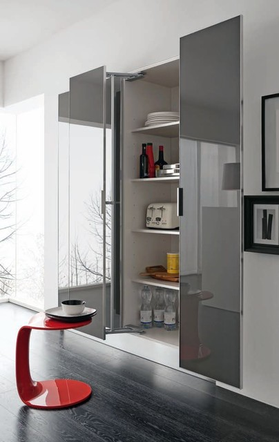 Italian Kitchen Cabinet Organization and Close-up Images contemporary-kitchen-cabinets