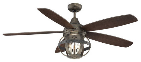 Savoy House 52 840 5cn Alsace 5 Blade 3 Light Hanging