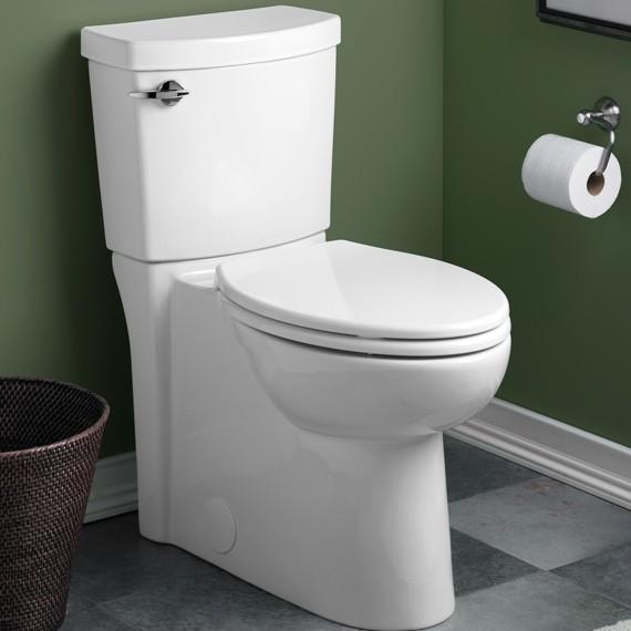American Standard Clean High Efficiency Elongated Toilet - Toilets ...