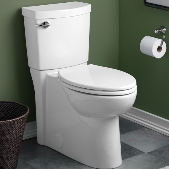 American Standard Clean High Efficiency Elongated Toilet