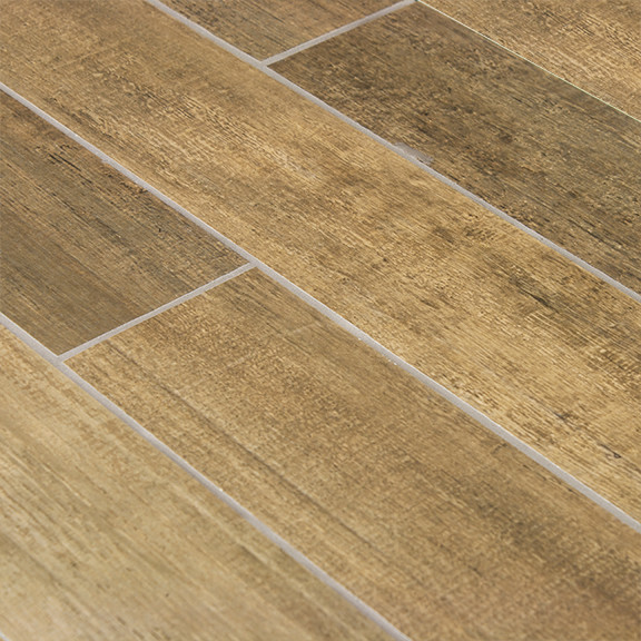 Vert Wood Plank Porcelain Tile Contemporary Wall And Floor Tile