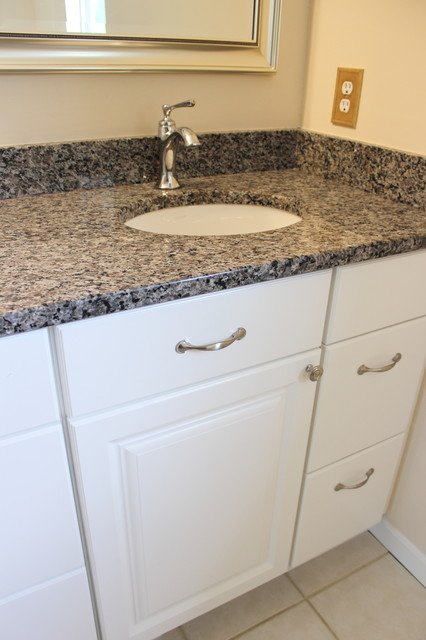 White Guest Bathroom Copley Oh Bathroom Vanities And Sink Consoles Cleveland By Cabinet